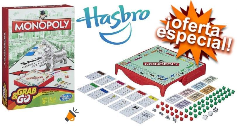 oferta Monopoly edicio%CC%81n viaje barato SuperChollos