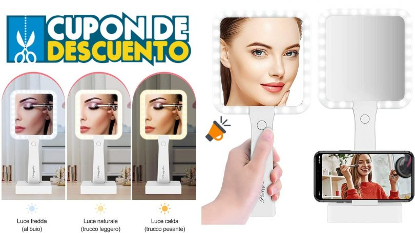 oferta Espejo Maquillaje pretty see barato 1 SuperChollos