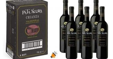 oferta vino crianza pata negra SuperChollos