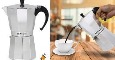 oferta Cafetera italiana ORBEGOZO KF1200 barata SuperChollos