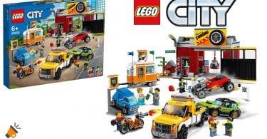 oferta LEGO City Taller de Tuneo barato SuperChollos