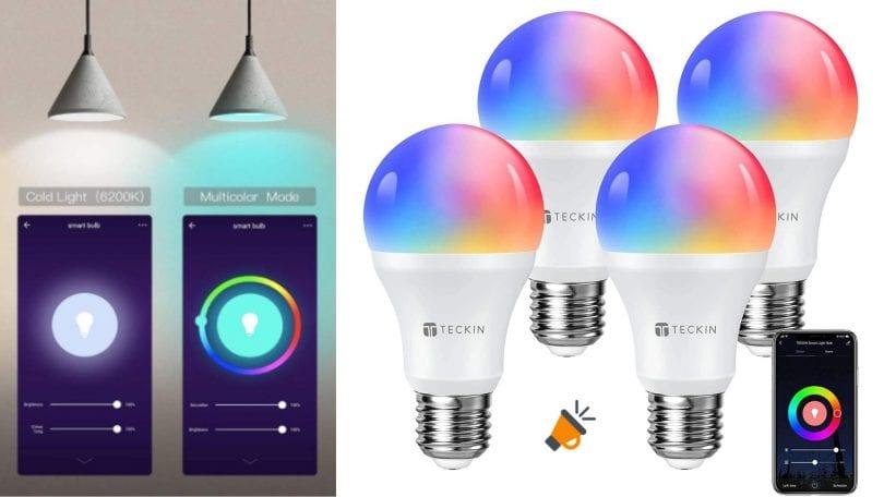 oferta bombillas inteligentes teckin baratas SuperChollos