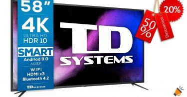 oferta TD Systems K58DLJ12US barata SuperChollos