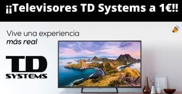 televisiones td systems 1 euros SuperChollos