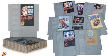 oferta posavasos Nintendo NES baratos SuperChollos