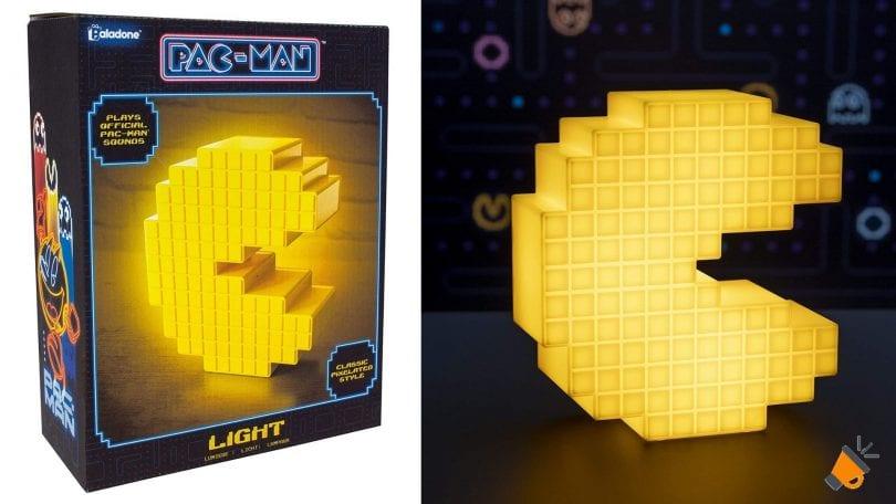 oferta lampara Pacman Pixelated barata SuperChollos