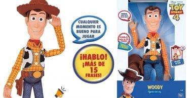 oferta toy story figura woody barata SuperChollos