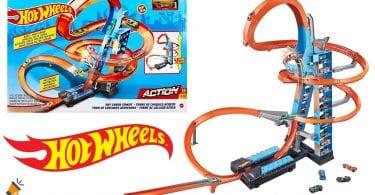 oferta Torre para acrobacias Hot Wheels barata SuperChollos