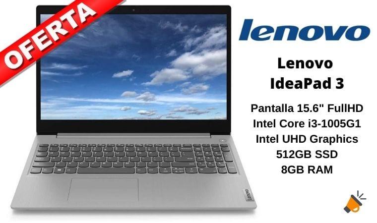 oferta Lenovo IdeaPad 3 barato SuperChollos