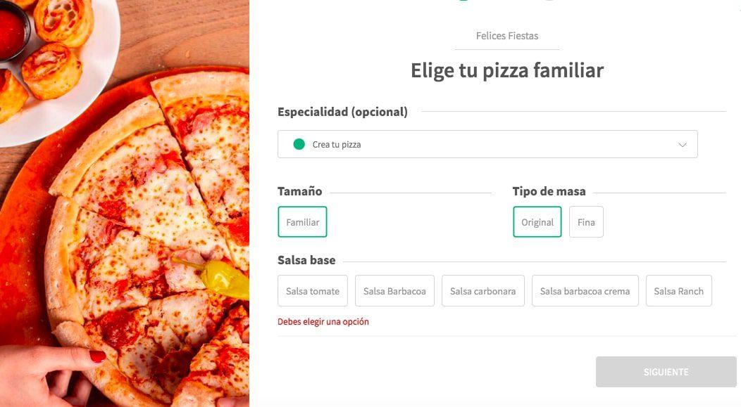Pizza GRATIS Papa Johns2 SuperChollos