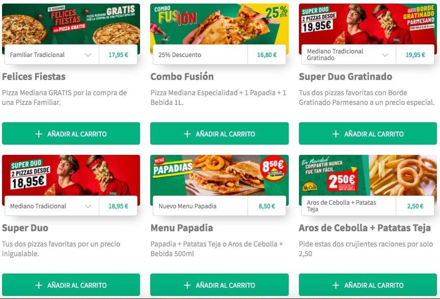 Pizza GRATIS Papa Johns1 SuperChollos