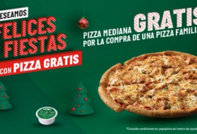 oferta pizza gratis papa johns SuperChollos