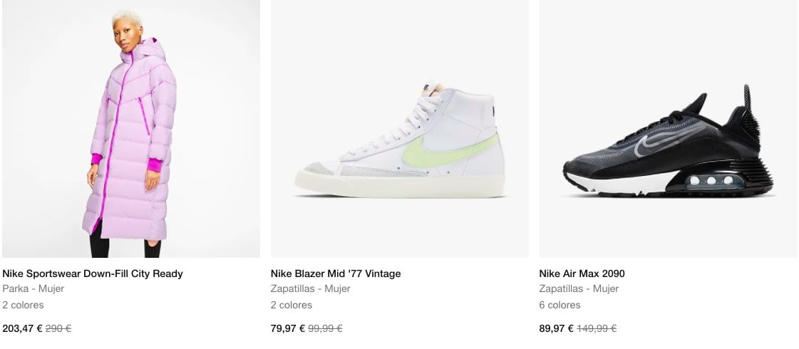 Rebajas Nike3 SuperChollos