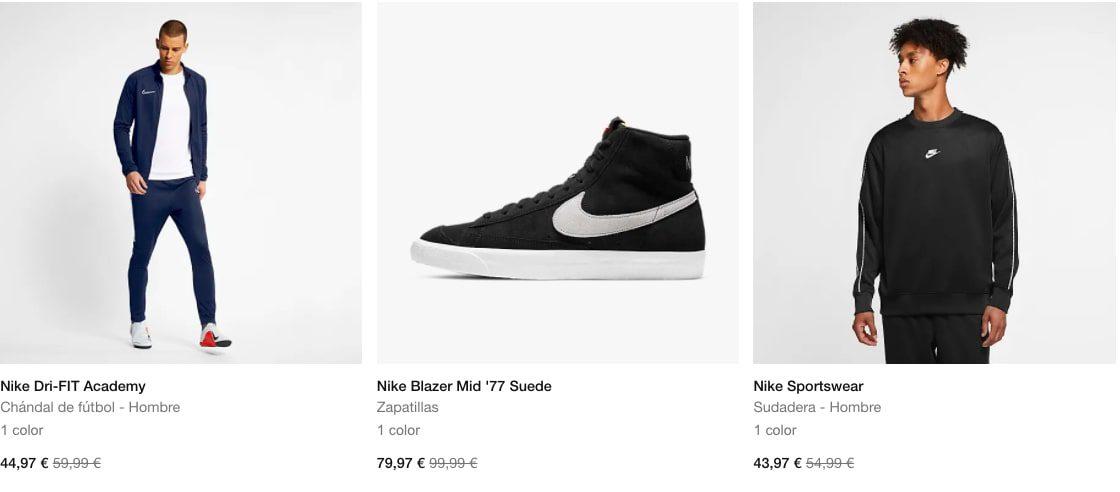 Rebajas Nike5 SuperChollos