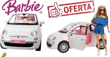 OFERTA Set Barbie Fiat 500 barato SuperChollos