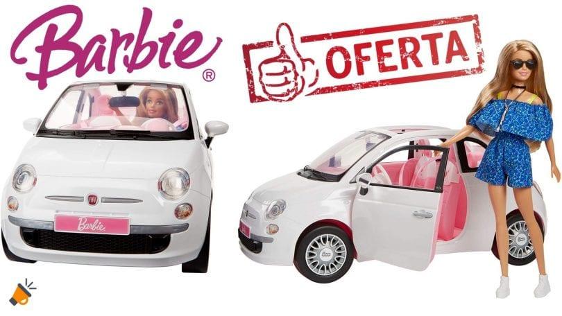 OFERTA Set Barbie Fiat 500 barato SuperChollos