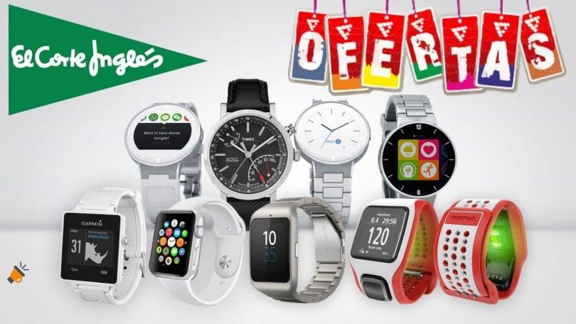 ofertas smartwatches baratos corte ingles SuperChollos