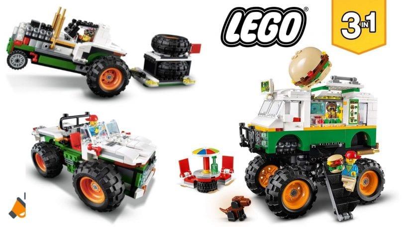 oferta LEGO Monster Truck Hamburgueseri%CC%81a barato barata SuperChollos