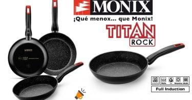 oferta Sartenes Monix Titan Rock baratas SuperChollos