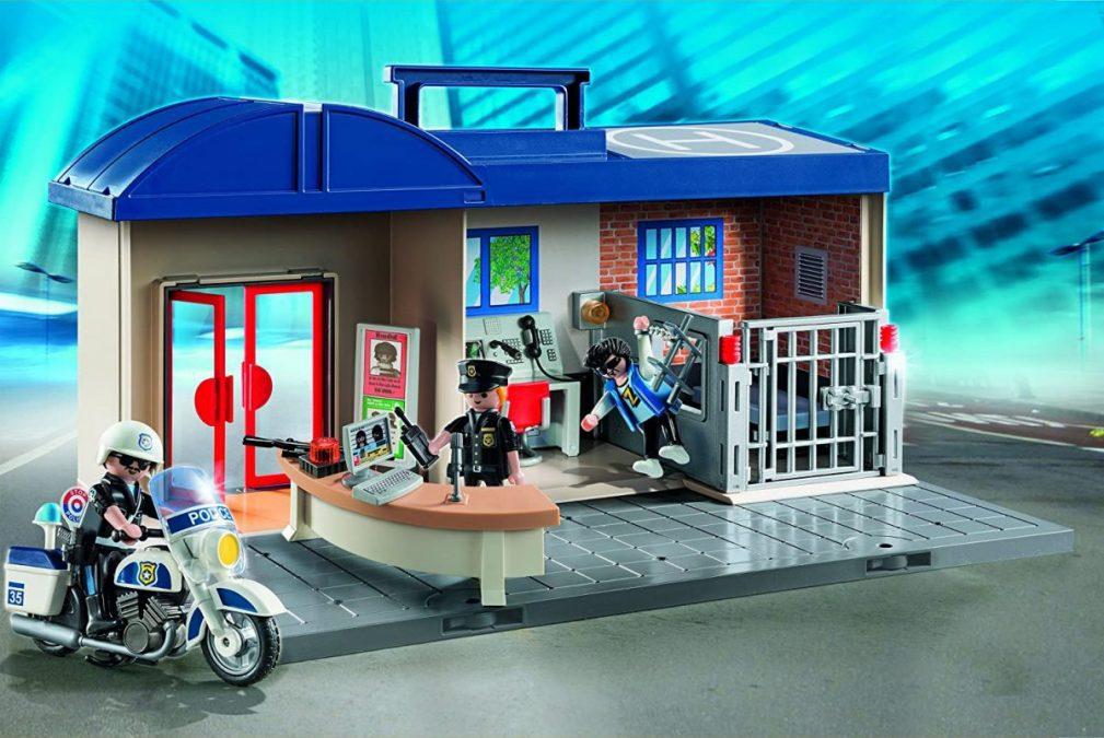 Comisari%CC%81a de polici%CC%81a Playmobil City Action barata scaled SuperChollos