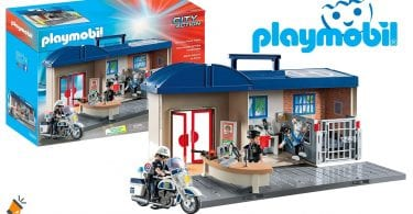 oferta comisari%CC%81a de polici%CC%81a Playmobil City Action barata SuperChollos