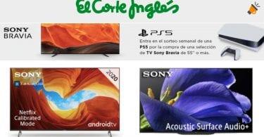 Sorteo PS5 El Corte Ingle%CC%81s SuperChollos
