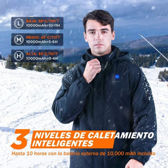 Chaleco calefactable IUREK barato scaled SuperChollos