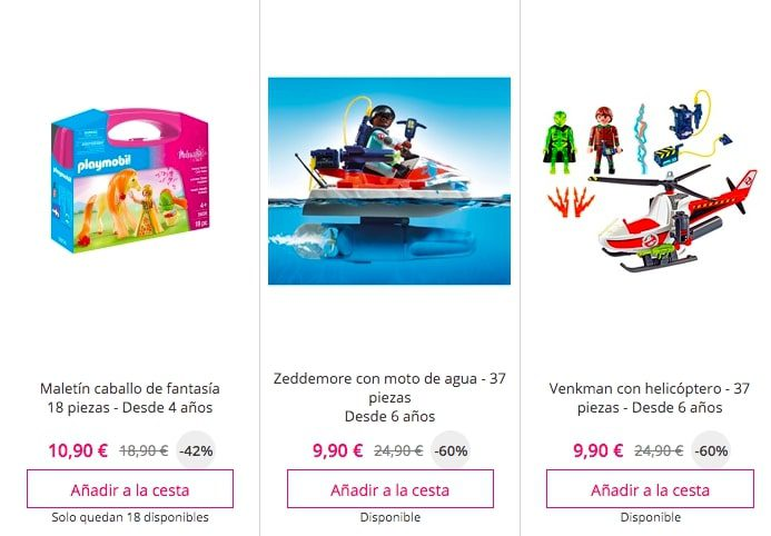 Outlet Playmobil3 SuperChollos