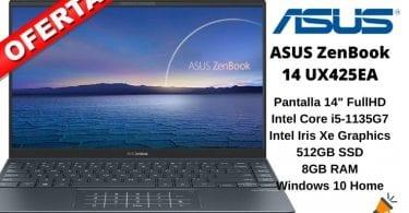 oferta ASUS ZenBook 14 UX425EA barato SuperChollos