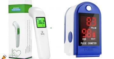 oferta termometro digital oximetro barato SuperChollos