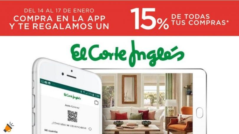 descuentos app corte ingles SuperChollos