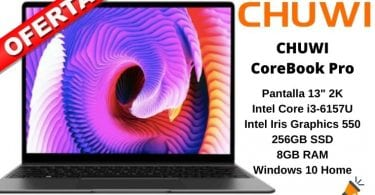 OFERTA Chuwi CoreBook Pro BARATO 1 SuperChollos