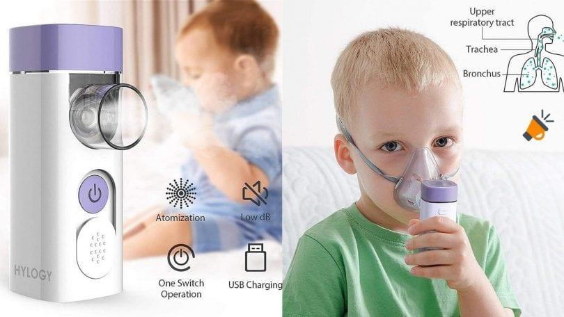 OFERTA HYLOGY Nebulizador Inhalador BARATO SuperChollos