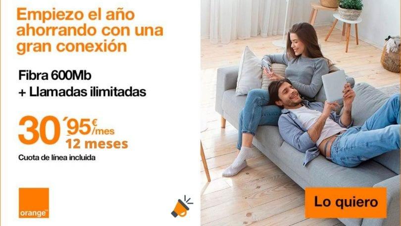 oferta fibra orange barata SuperChollos