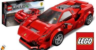 oferta lego Ferrari F8 Tributo barato SuperChollos