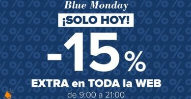 BLUE MONDAY DRUNI SuperChollos