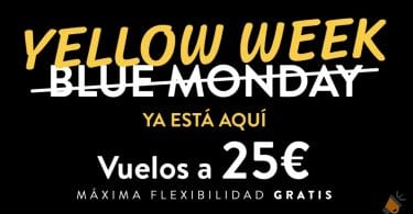 yellow week vueling SuperChollos