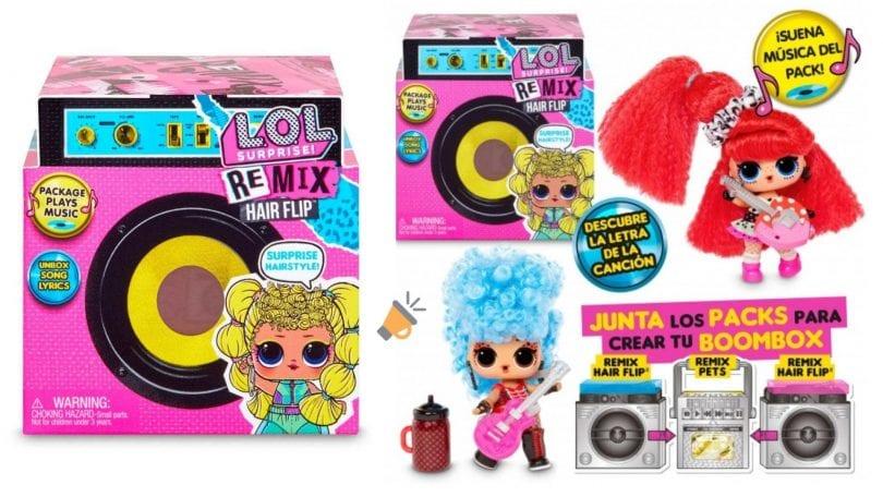 oferta L.O.L Surprise Remix Doll barata SuperChollos