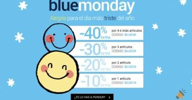 blue monday magic outlet SuperChollos