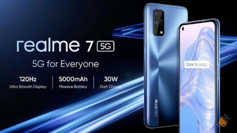 oferta realme 7 5G barato SuperChollos