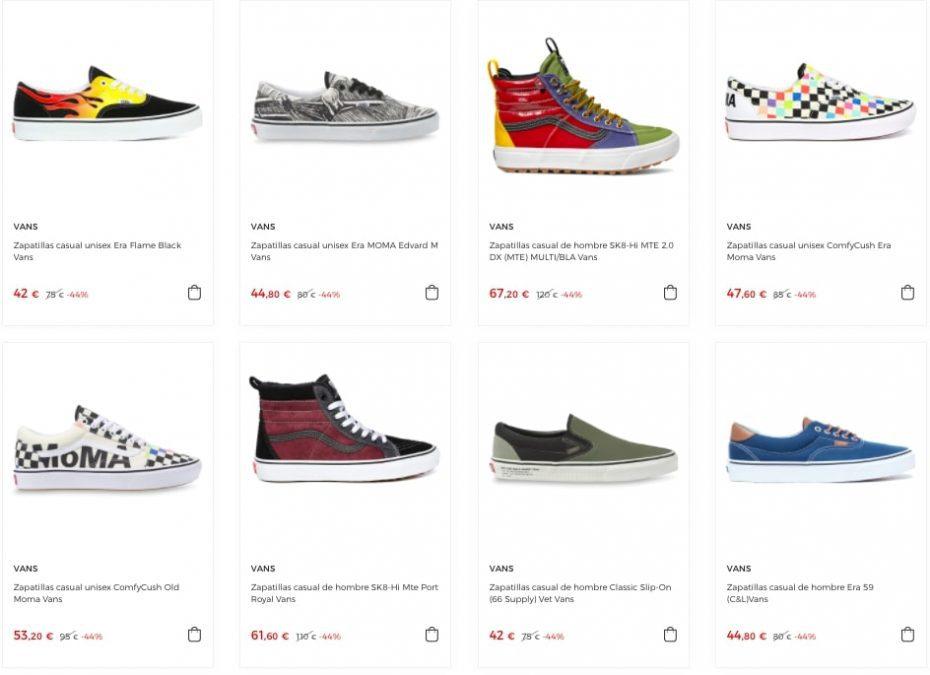 Ofertas destacadas zapatillas Vans3 SuperChollos