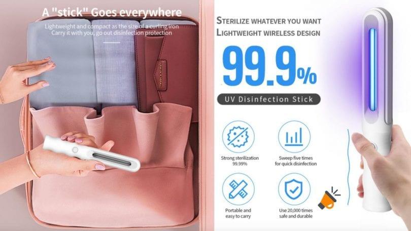 oferta La%CC%81mpara UV desinfeccio%CC%81n barato barata SuperChollos