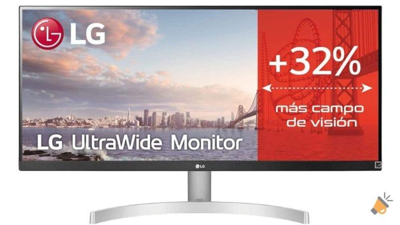 oferta monitor LG 29WN600 barato SuperChollos