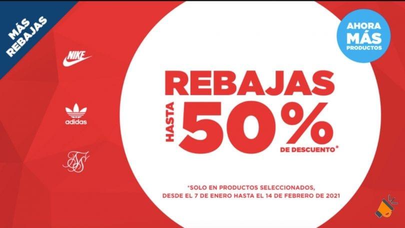 oferta REBAJAS JDSPORTS SuperChollos
