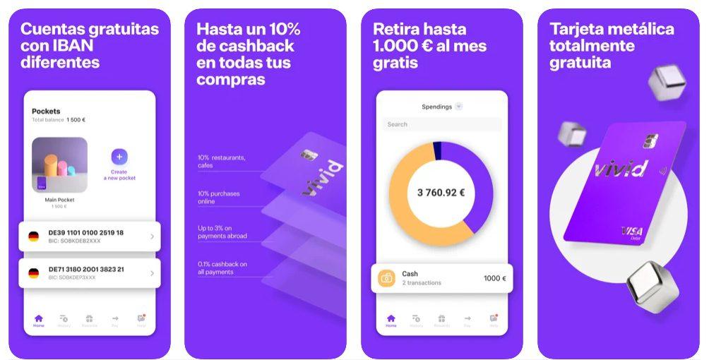 vivid money app 1 SuperChollos