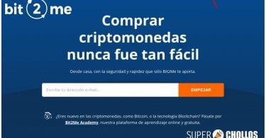 Bit2Me 5 euros gratis SuperChollos