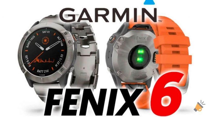 oferta Garmin Fenix 6 barato SuperChollos