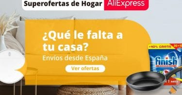 ofertas hogar aliexpress SuperChollos