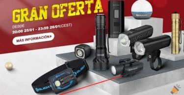 ventas flash OlightStore SuperChollos