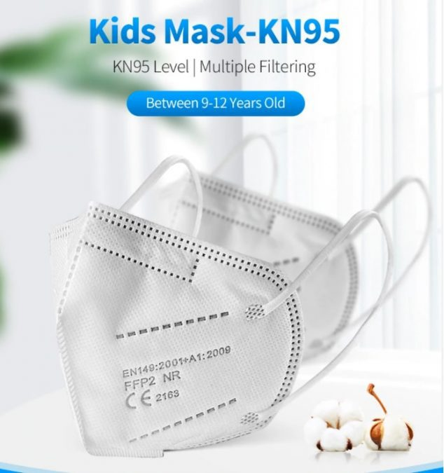 Mascarillas infantiles FFP2 KN95 baratas SuperChollos